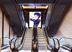 Returning a Knightsbridge Stores escalator hall to a former glory