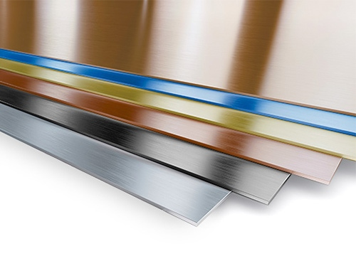 Double Stone Steel PVD coloured stainless steel sheet