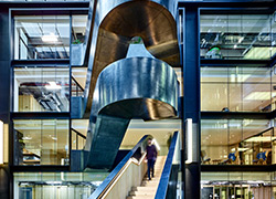 Retro-fit staircase, Google offices Case Study