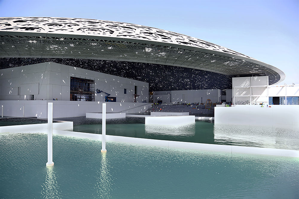 The use of light and geometry in the design of The Louvre, Abu Dhabi