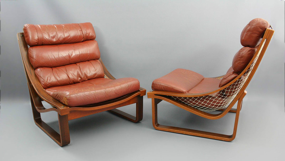 The Tessa T4 Hammock chair by Fred Lowen made headlines in 1971 and remained in continuous production until 2019.