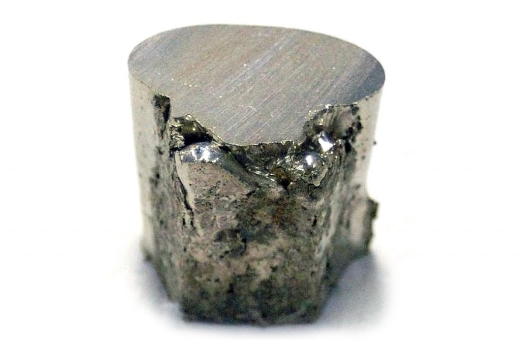 Nickel (Ni)  – part of a series on metals commonly alloyed with stainless steel to form varying grades of material.