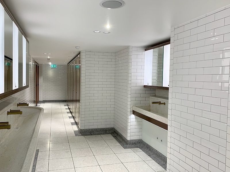 A tour of the £4 million renovations of the subterranean toilets at London Victoria Rail Station